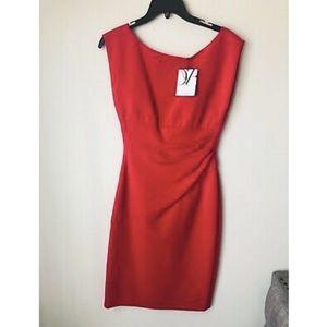 NWT DVF Diane Von Furstenberg Jori Raspberry Dress